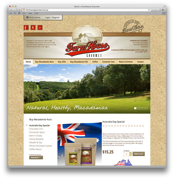 Tag Archive For Farmhouse Gourmet Australian Website